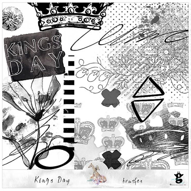 Kingsday - brushes