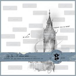 City Trip - Vellum Labels CU