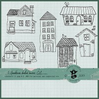 Doodled Houses - CU