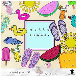 Enamel Pins - Summer - CU