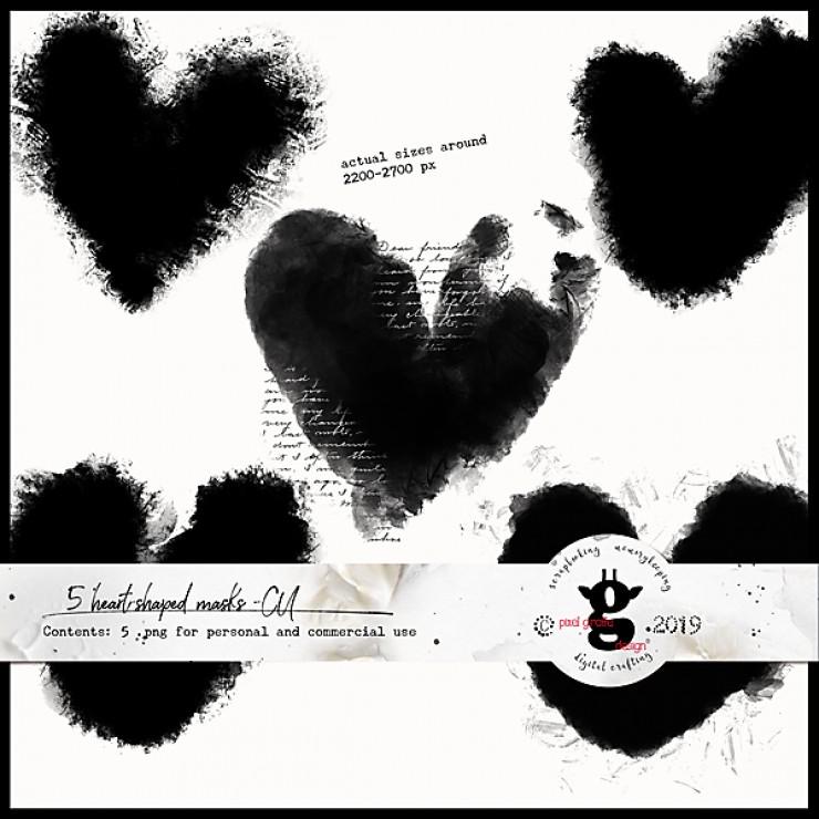Heart-shaped masks - CU