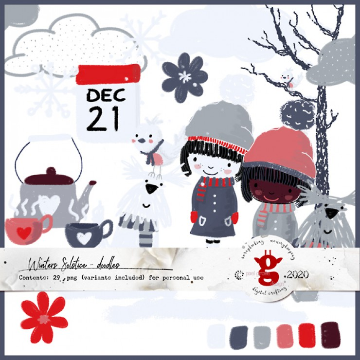 Winter Solstice [Doodles]