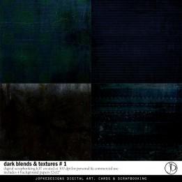 Dark Blends & Textures # 1 PU/CU